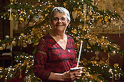 Wendy Mitchell, Ambassador. Carols by candlelight. An evening of celebration and song for the Alzheimers's Society. St Pauls Church, Knightbridge, London.