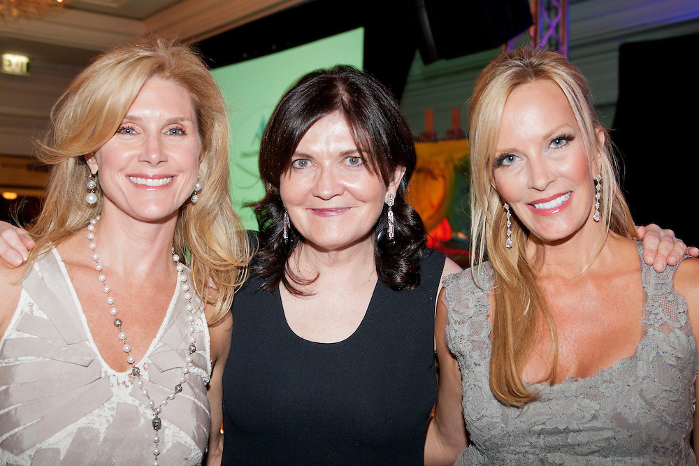 Event Chair Wendy DiVenere, Janet O'Grady and Title Sponsor Nancy C. Rogers.