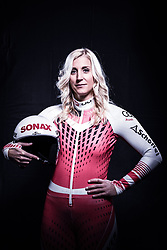 12.10.2019, Olympiahalle, Innsbruck, AUT, FIS Weltcup Ski Alpin, im Bild Eva Maria Brem // during Outfitting of the Ski Austria Winter Collection and the official Austrian Ski Federation 2019/ 2020 Portrait Session at the Olympiahalle in Innsbruck, Austria on 2019/10/12. EXPA Pictures © 2020, PhotoCredit: EXPA/ JFK