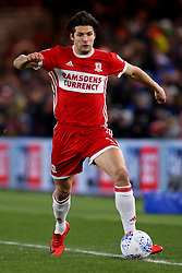 George Friend of Middlesbrough - Mandatory by-line: Robbie Stephenson/JMP - 02/03/2018 - FOOTBALL - Riverside Stadium - Middlesbrough, England - Middlesbrough v Leeds United - Sky Bet Championship