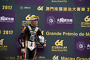 Peter HICKMAN, SMT / Bathams by MGM Macau, BMW<br /> 64th Macau Grand Prix. 15-19.11.2017.<br /> Suncity Group Macau Motorcycle Grand Prix - 51st Edition<br /> Macau Copyright Free Image for editorial use only