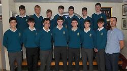 Sancta Maria College Awards 2018<br />Schools U17 boys soccer Connacht SFAI finalists.<br />Pic Conor McKeown