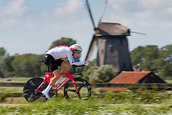 KÜNG Stefan from SWITZERLAND during Men Elite Time Trial at 2019 UEC European Road Championships, Alkmaar, The Netherlands, 8 August 2019. <br /> <br /> Photo by Pim Nijland / PelotonPhotos.com<br /> <br /> All photos usage must carry mandatory copyright credit (Peloton Photos | Pim Nijland)