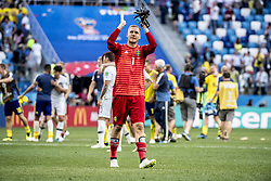 June 18, 2018 - Nizhny Novgorod, Russia - Robin Olsen..2018 FIFA World CUP, Sweden - South Korea, 1-0, Nizhny Novgorod Stadium, Russia, 2018-06-18..(c) ORRE PONTUS  / Aftonbladet / IBL BildbyrÃ¥....* * * EXPRESSEN OUT * * *....AFTONBLADET / 85527 *** Local Caption  (Credit Image: © Orre Pontus/Aftonbladet/IBL via ZUMA Wire)