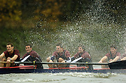 2004_Oxford University Trail Eights, Putney, London:ENGLAND. 14.12.04. Crew list. OUBC [right to left].Indians [Middlx].Robin Esmond-Frej, Jo Von Maltzahn, Peter Reed, Colin Smith, Robin Bourne-Taylor [President] .Photo Peter Spurrier.email images@intersport-images.com. ...........[Mandatory Credit Peter Spurrier/ Intersport Images] Varsity:Boat Race, Rowing Course: River Thames, Championship course, Putney to Mortlake 4.25 Miles