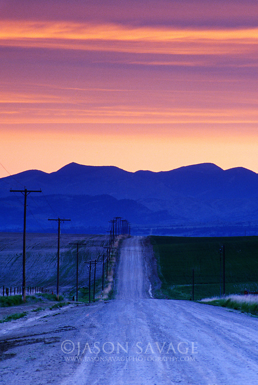 Sunrise over Helena