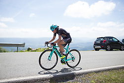 Susanna Zorzi (ITA) of Drops Cycling Team rides the final few hundred metres of Stage 4 the Emakumeen Bira - a 58 km road race, between Etxarri Aranatz and San Miguel on May 20, 2017, in Basque Country, Spain. (Photo by Balint Hamvas/Velofocus)