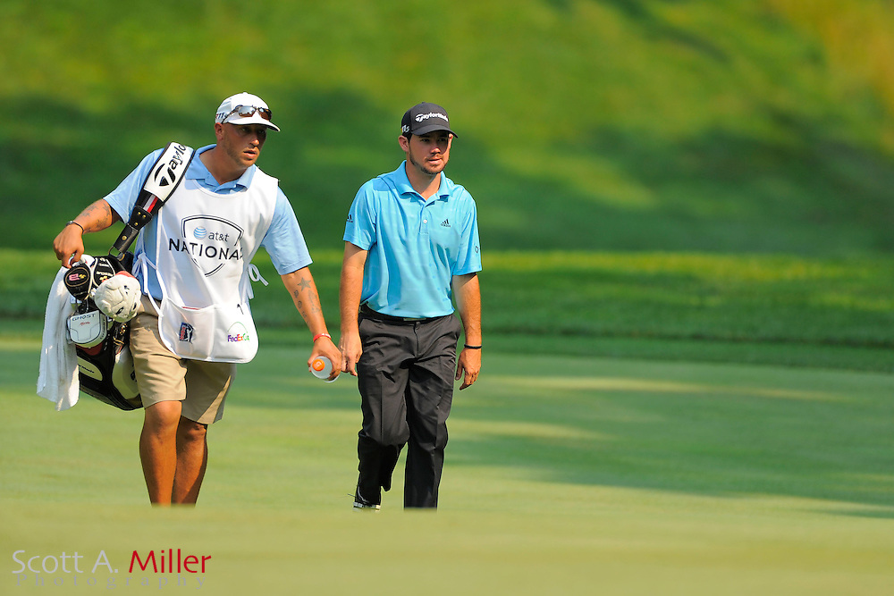 Brian Harman during the second round of the AT&T National at Congressional Country Club on June 29, 2012 in Bethesda, Maryland. ..©2012 Scott A. Miller