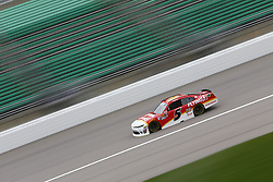 October 19, 2018 - Kansas City, Kansas, United States of America - Michael Annett (5) takes to the track to practice for the Kansas Lottery 300 at Kansas Speedway in Kansas City, Kansas. (Credit Image: © Justin R. Noe Asp Inc/ASP via ZUMA Wire)