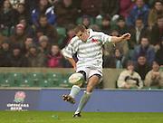 Twickenham, England, RFU Twickenham Stadium, Surrey, 10.12.2002.<br /> 2002 Varsity Rugby - Oxford vs Cambridge<br /> Owen Edwards    [Mandatory Credit:Peter SPURRIER/Intersport Images]