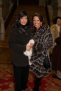 JULIA GARGIULO NAPPI; ANNLAURA DI LUGGO, Maloja Palace. St. Moritz, Switzerland. 23 January 2009 *** Local Caption *** -DO NOT ARCHIVE-&copy; Copyright Photograph by Dafydd Jones. 248 Clapham Rd. London SW9 0PZ. Tel 0207 820 0771. www.dafjones.com.<br /> JULIA GARGIULO NAPPI; ANNLAURA DI LUGGO, Maloja Palace. St. Moritz, Switzerland. 23 January 2009