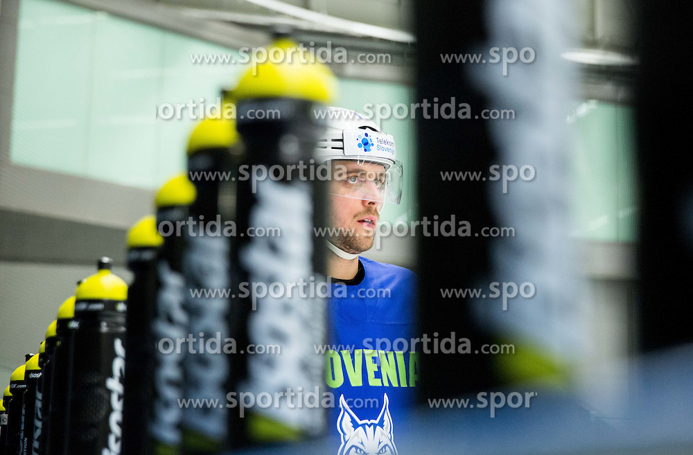 Anze Kopitar of Slovenia during practice session of Slovenian Ice Hockey National Team at Day 4 of 2015 IIHF World Championship, on May 4, 2015 in Practice arena Vitkovice, Ostrava, Czech Republic. Photo by Vid Ponikvar / Sportida