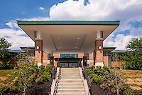 Architectural Exterior image of the  Charlestown Senior Living Community Center in Catonsville, MD by Jeffrey Sauers of Commercial Photographics