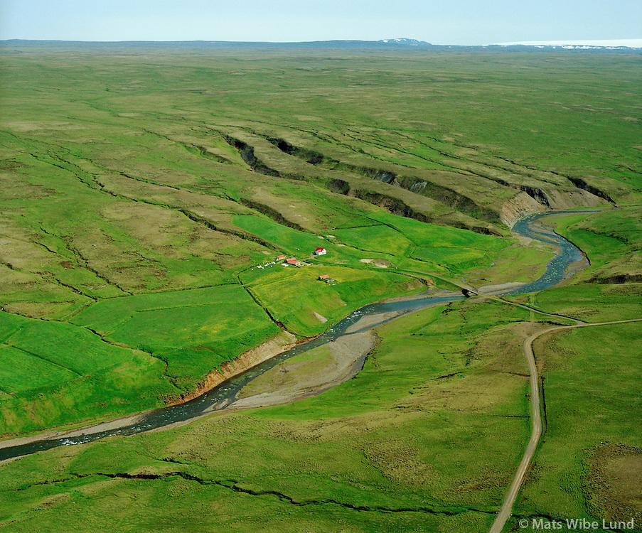 Skárastaðir séð til suðurs, Húnaþing vestra áður Fremri-Torfustaðahreppur / Skarastadir viewing south, Hunathing vestra former Fremri-Torfustadahreppur.