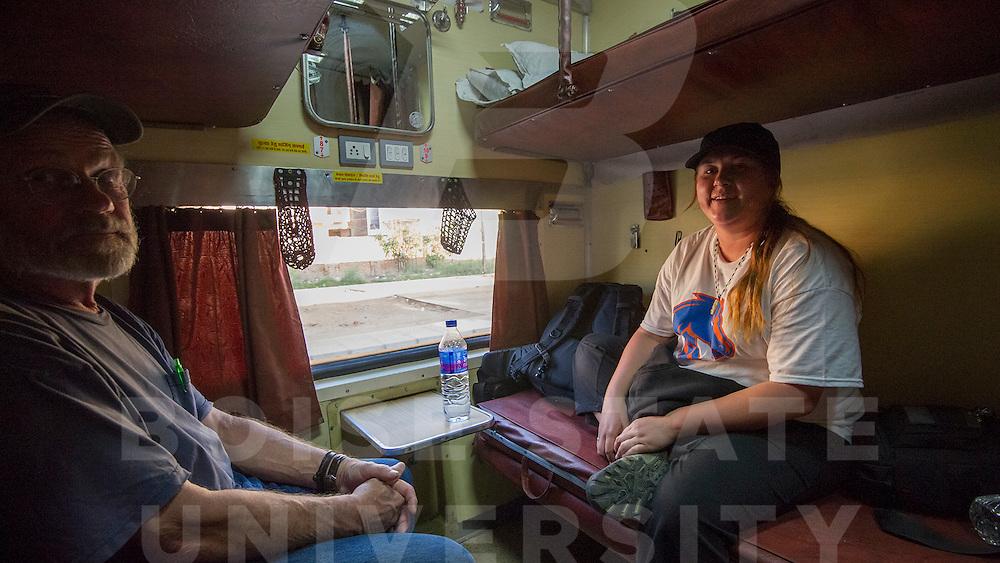 India Spring Break, Delhi, Train to Katni,  John Kelly photo
