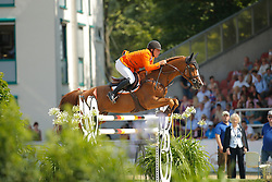 Pals Johnny, (NED), Vignet<br /> CSIO Nations Cup - Mannheim 2015<br /> © Hippo Foto - Stefan Lafrentz
