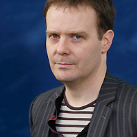 Tom McCarthy, English novelist and conceptual artist, at the Edinburgh International Book Festival, August 29, 2010.<br /> <br /> Geraint Lewis / Writer Pictures<br /> contact +44 (0)20 822 41564<br /> info@writerpictures.com<br /> www.writerpictures.com