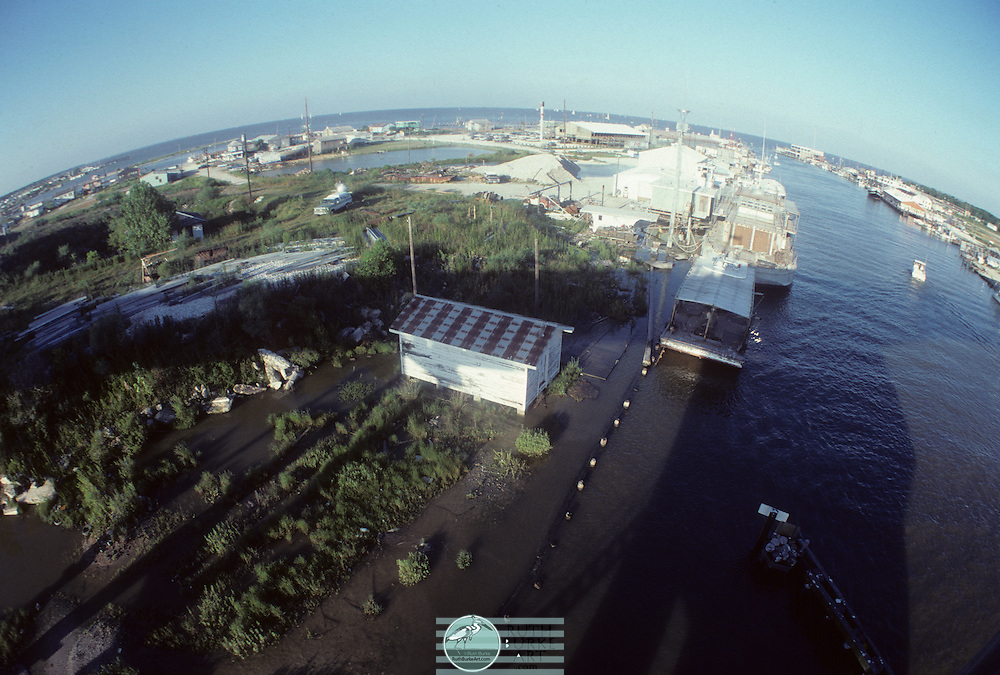1979-Seabrook and Kemah wide-angle from draw bridge