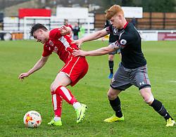 Cameron Pring of Bristol City U23 in action against Southampton U23 - Mandatory by-line: Paul Knight/JMP - 16/02/2017 - FOOTBALL - Twerton Park - Bath, England - Bristol City U23 v Southampton U23 - Premier League 2 Cup