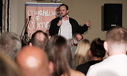Coachload of Comedy, Thursday 1st June 2017<br /> <br /> Comedians take the stage at the 'Coachload of `Comedy' event in Wilmslow, Cheshire<br /> <br /> (c) Alex Todd | Edinburgh Elite media