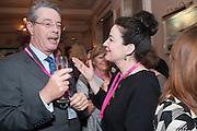 JONATHAN LLOYD; MONICA MCINERNEY, Romantic Novelists Association The RoNas Awards - RICHARD MADELEY & JUDY FINNIGAN - ballroom of the RAF Club, 128 Piccadilly, London. 26 February 2013
