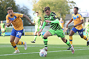 Forest Green Rovers Elliott Frear(17) runs forward during the EFL Sky Bet League 2 match between Forest Green Rovers and Mansfield Town at the New Lawn, Forest Green, United Kingdom on 19 October 2019.