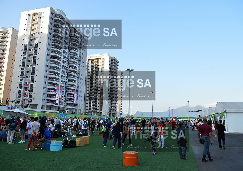 RIO DE JANEIRO, BRAZIL - AUGUST 04: a general view during a visit to the athletes village where Team South Africa are staying. <br /> (Photo by Roger Sedres/ImageSA)