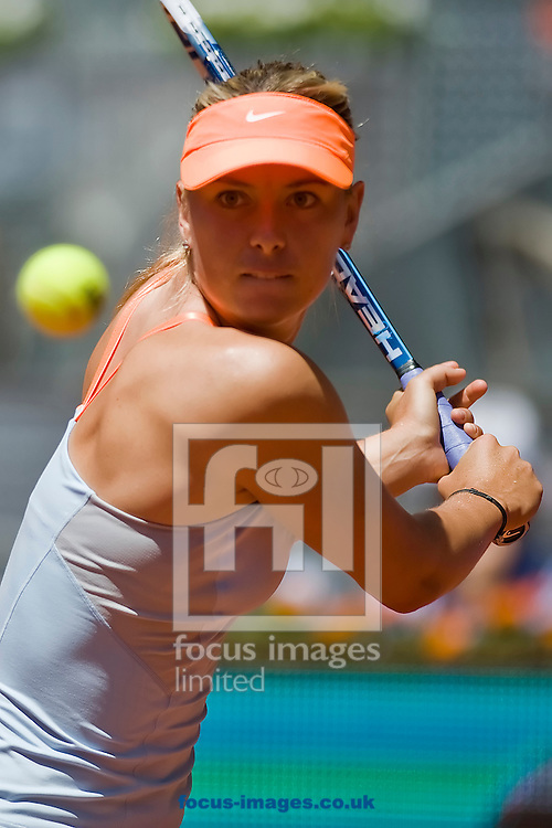 Picture by Marcos Calvo Mesa/Focus Images Ltd +34 600474871.06/05/2013.Maria Sharapova during Madrid Open at Manzanares Park Tennis Centre, Madrid.