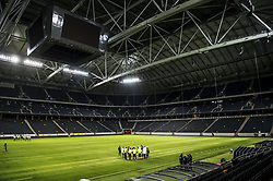 November 6, 2017 - Stockholm, Sweden - Sweden team practising for the UEFA European qualifying game against Italy.Fotbollslandslaget tränar inför mötet med Italien.  Svenska fotbollslandslaget (Credit Image: © Lorentz-Allard Robin/Aftonbladet/IBL via ZUMA Wire)