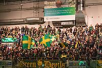 2019-12-14 | Umeå, Sweden:IF Björklöven supporters in HockeyAllsvenskan during the game  between Björklöven and Almtuna at A3 Arena ( Photo by: Michael Lundström | Swe Press Photo )<br /> <br /> Keywords: Umeå, Hockey, HockeyAllsvenskan, A3 Arena, Björklöven, Almtuna, mlba191214