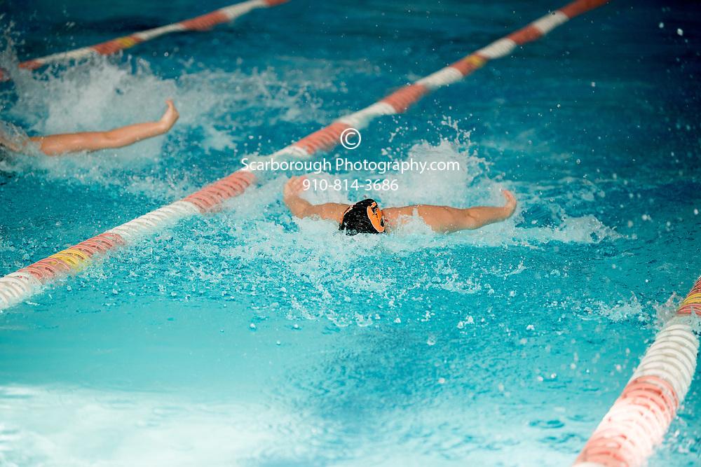 2017 Campbell University Swim Team vs Vandy