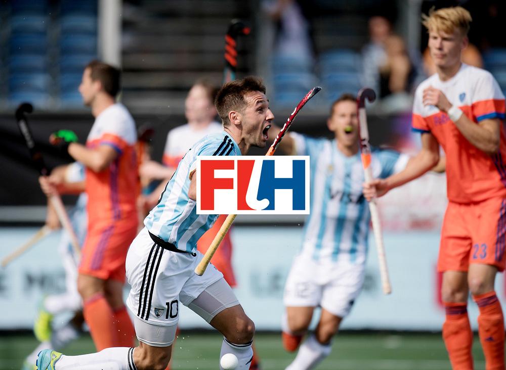 BREDA - Rabobank Hockey Champions Trophy<br /> The Netherlands - Argentina<br /> Photo: Matias Paredes scored the winning goal in the final seconds.<br /> COPYRIGHT WORLDSPORTPICS FRANK UIJLENBROEK