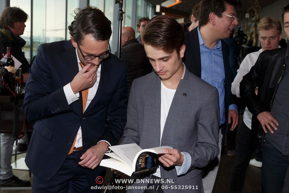 NLD/Amsterdam/20150324 -  boekpresentatie Het Grote Songfestival boek, Ralph Mackenbach