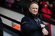 Sean O'Driscoll, manager of Walsall FC during the Sky Bet League 1 match between Walsall and Millwall at the Banks's Stadium, Walsall, England on 6 February 2016. Photo by Mike Sheridan.