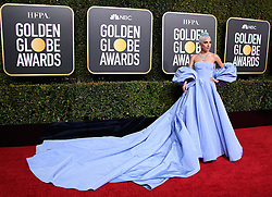 January 6, 2019 - Beverly Hills, California, United States of America - Golden Globe nominee Lady Gaga attends the 76th Annual Golden Globe Awards at the Beverly Hilton in Beverly Hills, California on  Sunday, January 6, 2019. HFPA/POOL/PI (Credit Image: © Prensa Internacional via ZUMA Wire)