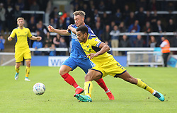 Ricky Miller of Peterborough United battles with Curtis Nelson of Oxford United - Mandatory by-line: Joe Dent/JMP - 30/09/2017 - FOOTBALL - ABAX Stadium - Peterborough, England - Peterborough United v Oxford United - Sky Bet League One