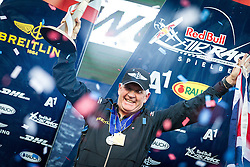 26.10.2014, Red Bull Ring, Spielberg, AUT, Red Bull Air Race, Renntag, im Bild Nigel Lamp, Weltmeister, 2. Platz, (GBR) // during the Red Bull Air Race Championships 2014 at the Red Bull Ring in Spielberg, Austria, 2014/10/26, EXPA Pictures © 2014, PhotoCredit: EXPA/ M.Kuhnke