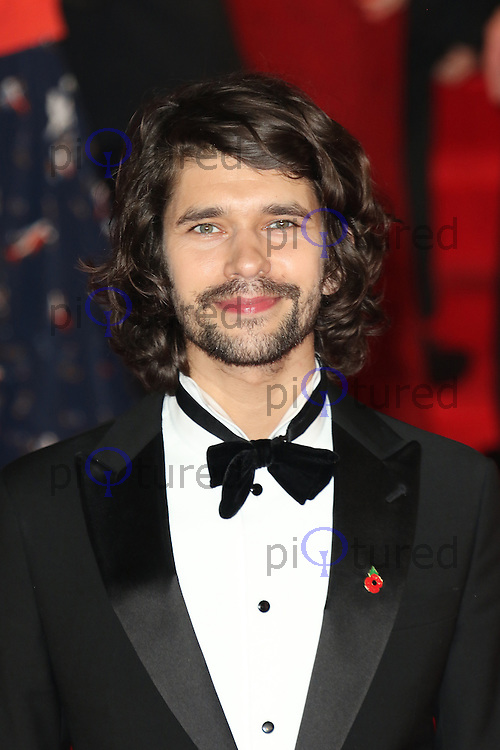 Ben Whishaw, Bond: Spectre - World Premiere & Royal Film Performance, Royal Albert Hall, London UK, 26 October 2015, Photo by Richard Goldschmidt