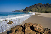 Makua Beach, Leeward Oahu, Hawaii