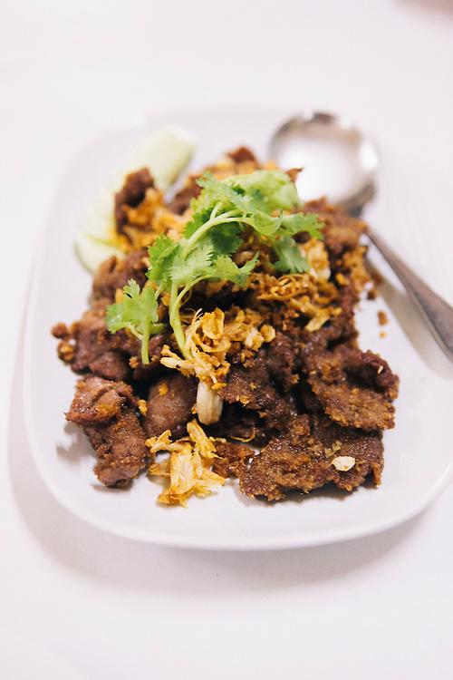 Jae Fai street food. Bangkok, Thailand
