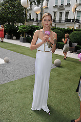 SASHA PIVOVAROVA at a garden party hosted by Piaget at The Hempel Hotel, London on 14th July 2011.