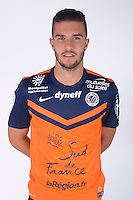 Anthony RIBELIN - 23.07.2014 - Portraits officiels Montpellier - Ligue 1 2014/2015<br /> Photo : Icon Sport