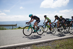 Ann-Sophie Duyck (BEL) of Drops Cycling Team leads the second chasing group in the final few hundred metres of Stage 4 the Emakumeen Bira - a 58 km road race, between Etxarri Aranatz and San Miguel on May 20, 2017, in Basque Country, Spain. (Photo by Balint Hamvas/Velofocus)