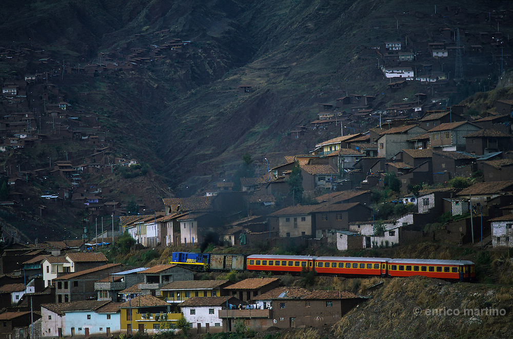 Train to Machu Picchu.