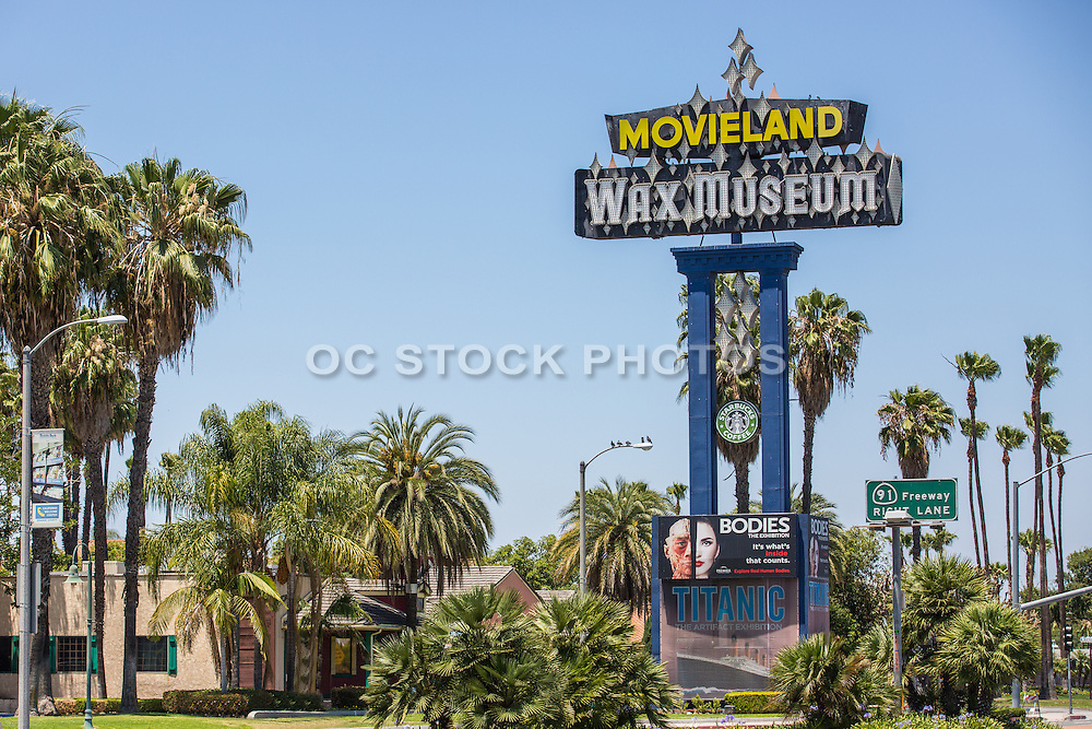 movieland wax museum in buena park california socal stock photos