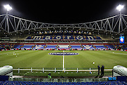 An empty stadium awaiting the Sky Bet Championship match between Bolton Wanderers and Ipswich Town at the Macron Stadium, Bolton, England on 8 March 2016. Photo by Simon Brady.