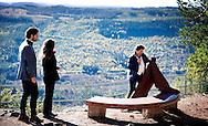 30-9-2016  Hykjeberget  sweden - Prince Carl Philip, Princess Sofia  Attendance at the opening of Hykjeberget Nature Reserve. Inauguration of the Hykjeberg nature reserve by Dalarna&acute;s Governor Ylva Th&ouml;rn. She will also present the gift that Dalarna gave the royal couple on their wedding day &ndash; a bench in the typical red &Auml;lvdalen sandstone.   COPYRIGHT ROBIN UTRECHT<br /> 30-9-2016 Hykjeberget sweden - Prins Carl Philip, Prinses Sofia Aanwezigheid bij de opening van Hykjeberget Nature Reserve. Inhuldiging van de Hykjeberg natuurgebied door Dalarna Gouverneur Ylva Th&ouml;rn. een bank in de typische rode zandsteen &Auml;lvdalen - zij zal ook het geschenk dat Dalarna gaf het koninklijk paar op hun huwelijksdag te presenteren. COPYRIGHT ROBIN UTRECHT NETHERLANDS ONLY  prins , prinses , zweden