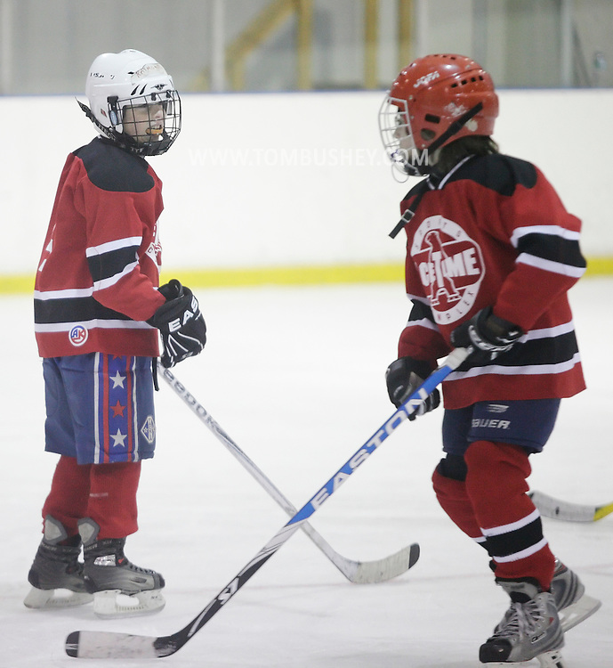 Newburgh, New York - Ice hockey at Ice Time Sports Complex on Nov. 21, 2010.