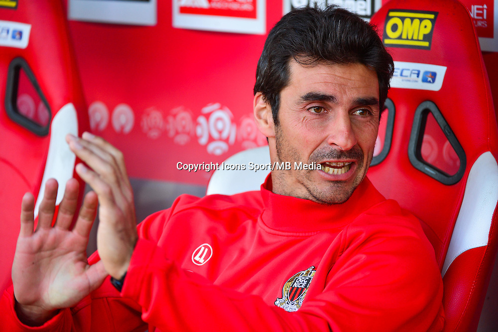 Lionel LETIZI  - 12.04.2015 - Reims / Nice - 32eme journee de Ligue 1 <br />