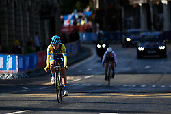 Sofiia Shevchenko (UKR) at UCI Road World Championships 2019 Junior Women's TT a 13.7 km individual time trial in Harrogate, United Kingdom on September 23, 2019. Photo by Sean Robinson/velofocus.com